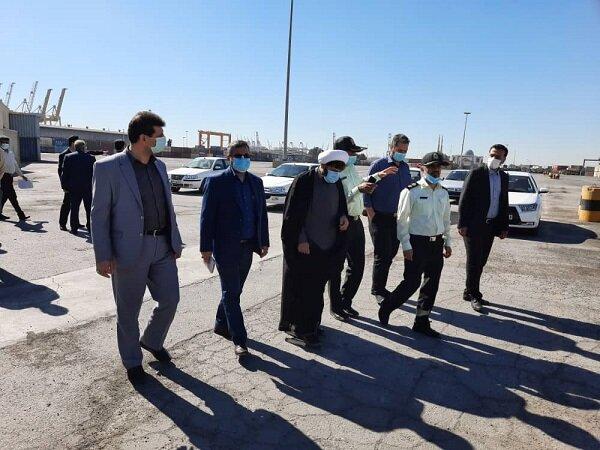 در راستای تعیین تکلیف اموال رها شده در اداره بنادر و دریانوردی استان هرمزگان و گمرک شهید رجایی بندرعباس