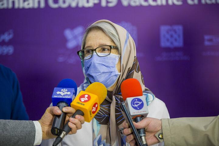 نشست خبری تیم واکسن کووایران برکت