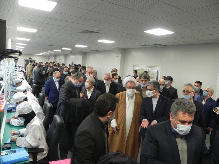 افتتاح کارخانه تبلت سازی سپهبد مراغه بهمن99