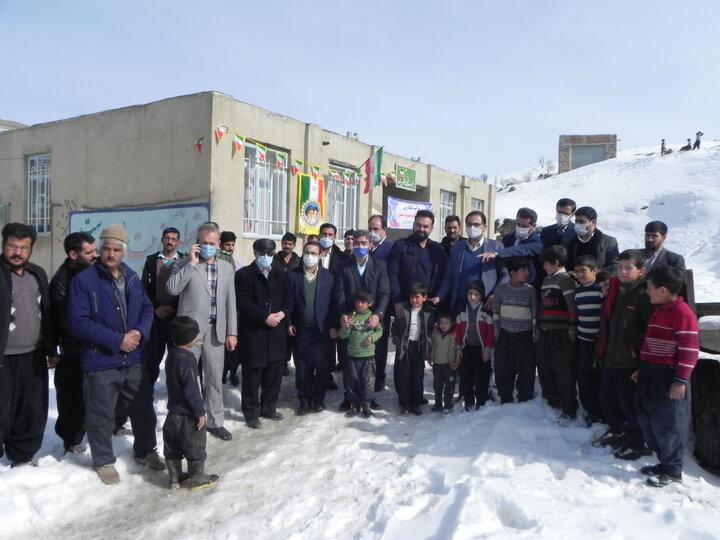 افتتاح و کلنگ زنی مدارس بناب