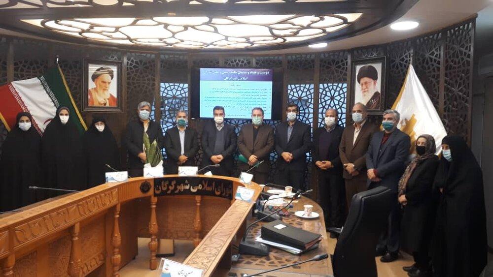 تقدیر از خدمات ستاد اجرایی در کلان شهر گرگان توسط شهردار و شورای شهر