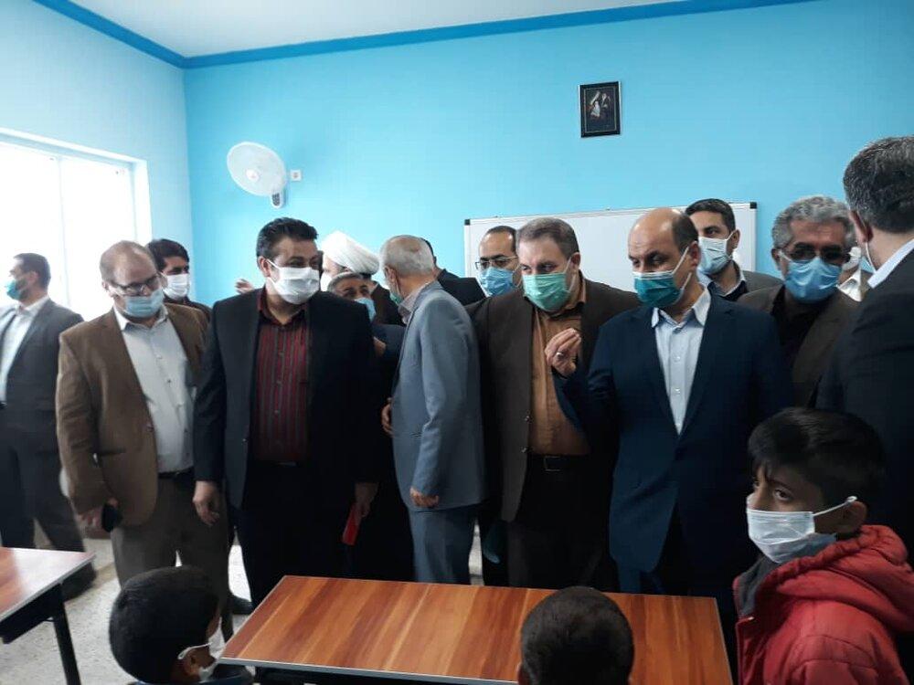 افتتاح پنجاه و ششمین مدرسه برکت در استان گلستان