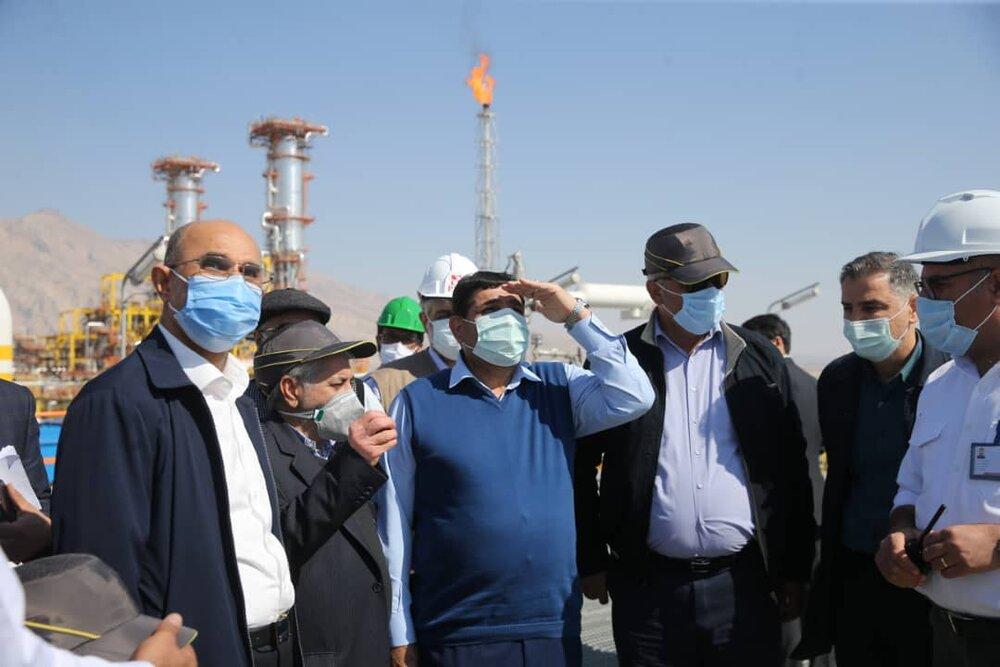آغاز بهرهبرداری آزمایشی بزرگترین طرح استحصال اتان در کشور توسط ستاد اجرایی فرمان امام