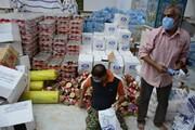 ارسال ۳۵۰۰ بسته امدادی و حمایتی به مناطق زلزلهزده سیسخت