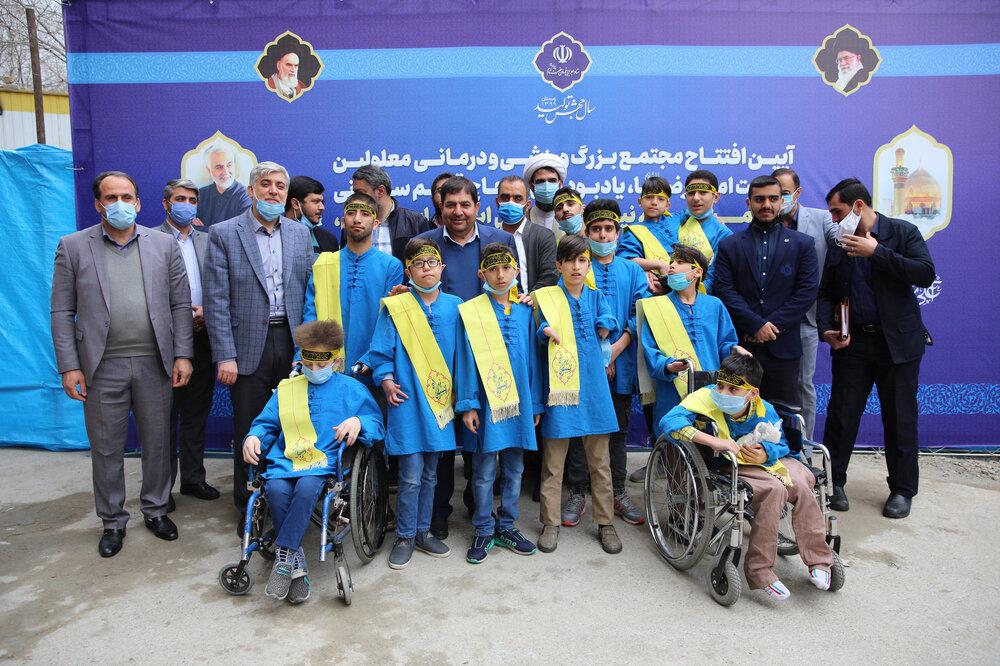 افتتاح مجتمع بزرگ ورزشی و درمانی ویژه معلولین
