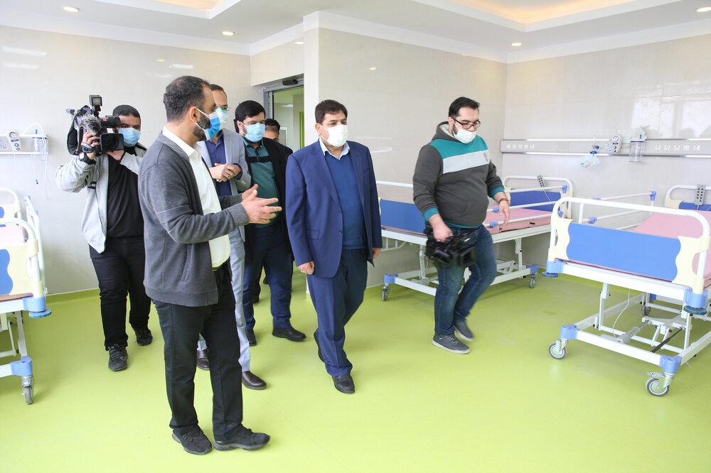 افتتاح مجتمع بزرگ ۷ هزار متری ورزشی و درمانی معلولین با مشارکت ستاد اجرایی فرمان امام