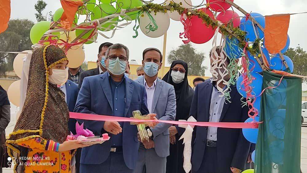 افتتاح ۲ مدرسه در هرمزگان توسط بنیاد برکت