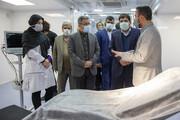 گزارش کامل باشگاه خبرنگاران جوان از افتتاح بزرگترین بیمارستان سیار کشور