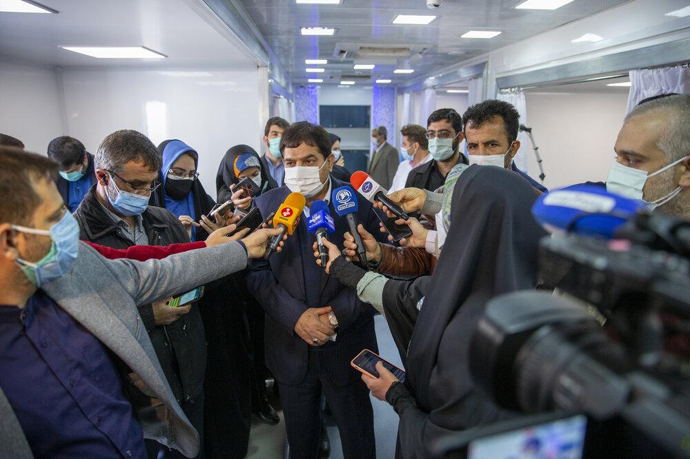پخش زنده افتتاح بزرگترین بیمارستان سیار کشور توسط ستاد اجرایی فرمان امام در شبکه خبر