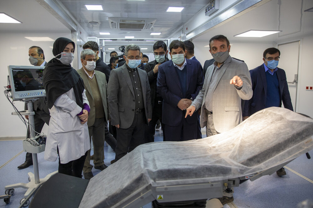 گزارش ۲۰ و ۳۰ از افتتاح بزرگترین بیمارستان سیار کشور