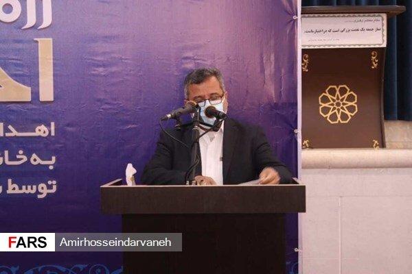 جناب آقای دکتر منوچهر دانشمند مدیرکل ستاد اجرایی فرمان حضرت امام (ره) استان هرمزگان اعلام نمودند