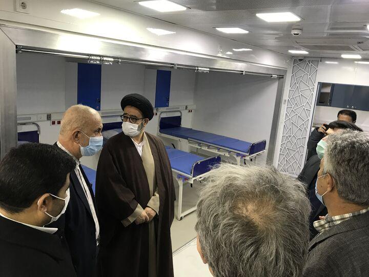 بیمارستان سیار احسان