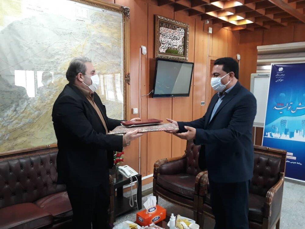 دیدار عیدانه با مدیرکل مخابرات استان گلستان