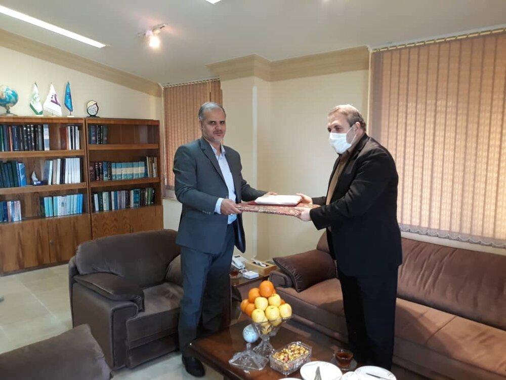 دیدار عیدانه با مدیرکل صدا و سیما مرکز گلستان