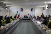 بازدید جمعی از دانشجویان نخبه کشور از خط تولید نخستین واکسن ایرانی کرونا