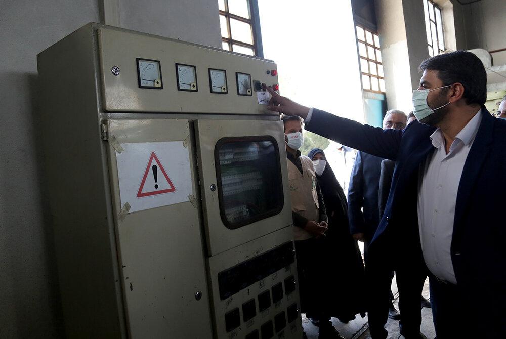 کارخانه ای تعطیل شده در منطقه ای محروم که حالا با کمک بنیاد برکت ستاد اجرایی احیا شده است.