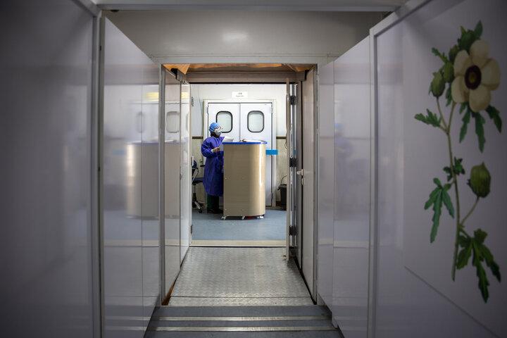 استقرار بیمارستان سیار احسان در بیمارستان بوعلی و مسیح دانشوری