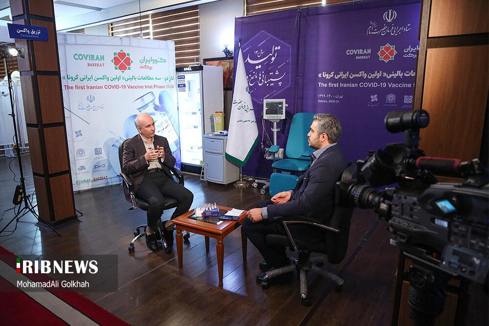 بدون تعارف ۲۰ و ۳۰ با مدیر پروژه تولید واکسن کوو ایران برکت