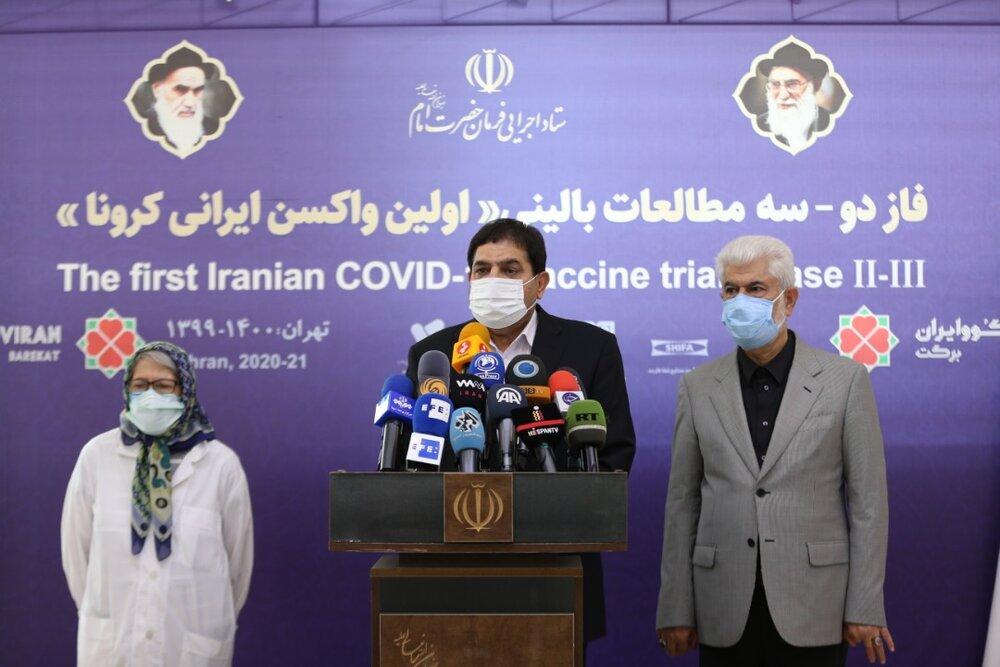 واکسن ملی حریف میطلبد، گزارش ۲۰ و ۳۰ از پیشتاز بودن واکسن کوو ایران برکت در بین واکسن های ایرانی