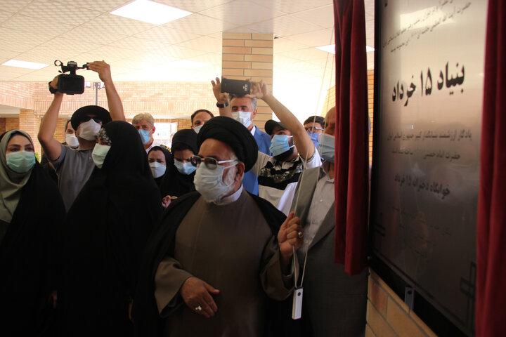 افتتاح خوابگاه دانشجویی پانزده خرداد در شهرستان نیشابور