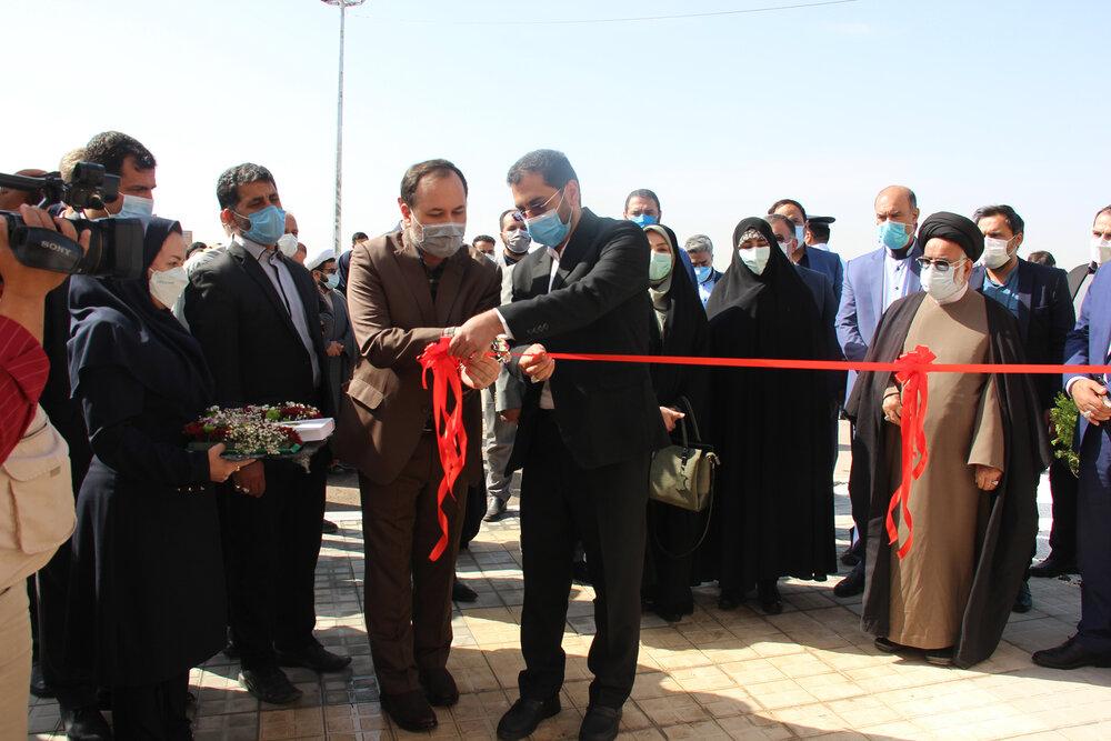 افتتاح خوابگاه دانشجویی دخترانه پانزده خرداد در نیشابور