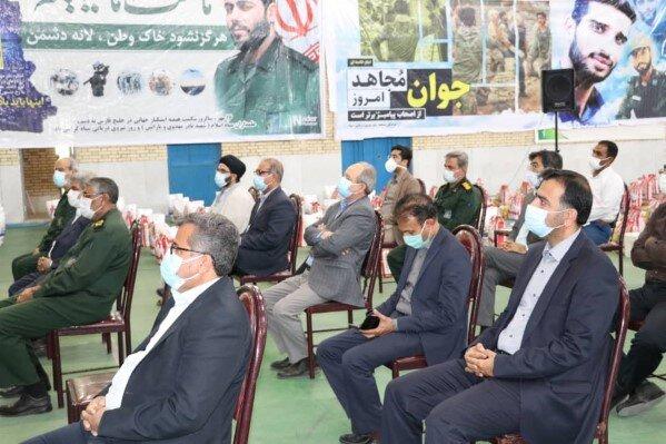 برگزاری اولین رزمایش بنیاداحسان بانام احسان رمضان وتوزیع 12هزاربسته معیشتی درمناطق کمترتوسعه استان هرمزگان