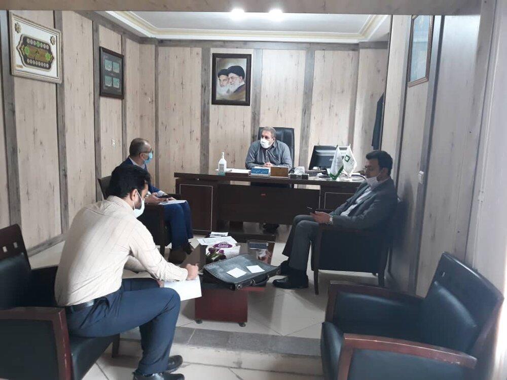 جلسه مدیرکل ستاد اجرایی فرمان حضرت امام(ره) با مدیرکل و معاون کمیته امداد امام خمینی (ره) استان