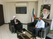 تبریک انتصاب دکتر حاجی رحیمیان توسط حجت الاسلام و المسلمین دست افکن
