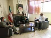 جلسه هم اندیشی مسئولین ناحیه امام علی (ع) سپاه صاحب الزمان با مدیرکل ستاد اجرایی فرمان امام (ره) استان اصفهان