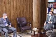 دیدار  مدیرکل جدید ستاد اجرایی فرمان امام(ره) استان اصفهان  با دکتر حبیبی رئیس کل دادگستری استان