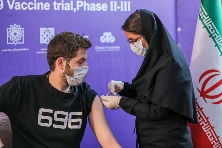تزریق واکسن کوو ایران برکت ، فاز سه مطالعات بالینی