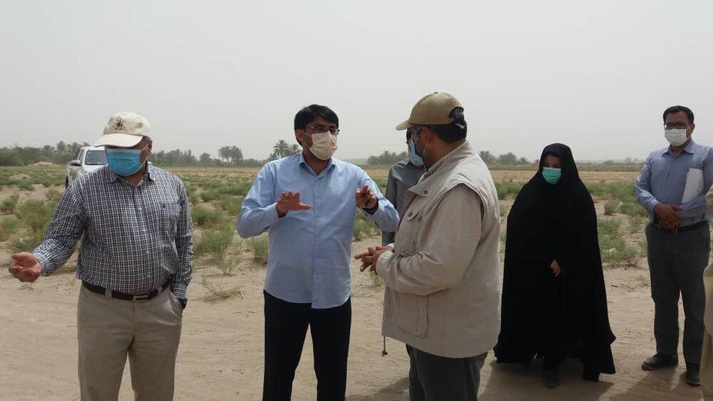 حضور مدیرعامل شرکت توسعه گری پردیس در استان سیستان و بلوچستان