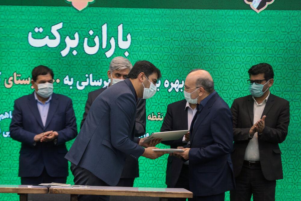 بهرهبرداری از ۵۰۰ پروژه آبرسانی به ۵۰۰ روستای محروم کشور توسط ستاد اجرایی فرمان امام