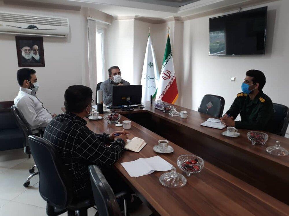 جلسه مشورتی با معاون اجتماعی سپاه نینوا استان گلستان