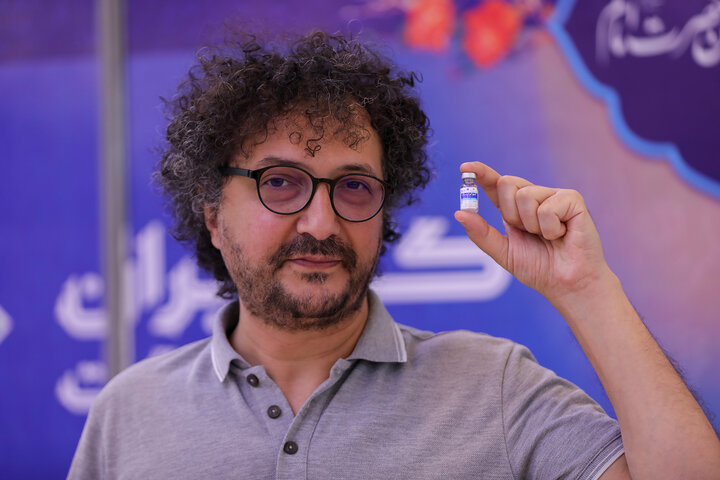 مهرداد نصرتی (آهنگساز) تزریق واکسن کوو ایران برکت ، فاز 3 مطالعات بالینی