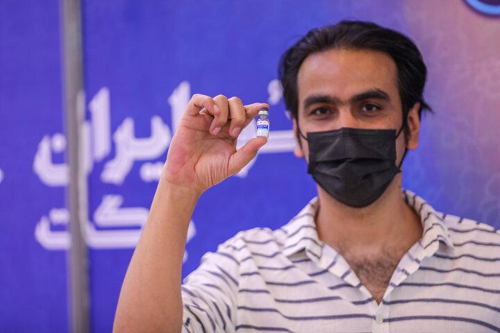حسین قیاسی (شاعر) تزریق واکسن کوو ایران برکت ، فاز 3 مطالعات بالینی