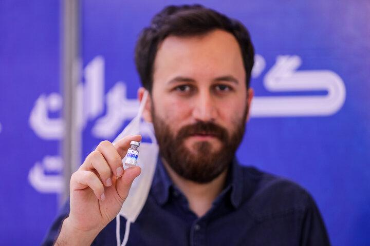 میثم یوسفی (ترانه سرا) تزریق واکسن کوو ایران برکت ، فاز 3 مطالعات بالینی