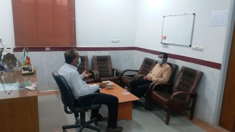 نشست صمیمی تسهیلگر شهرستان دیلم استان بوشهر با رئیس سازمان فنی و حرفهای