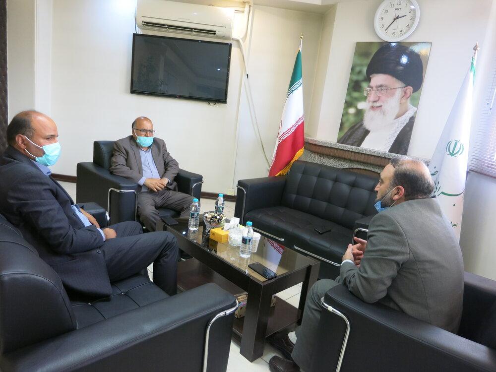 دیدار نماینده مردم شریف نطنز و بادرود در مجلس شورای اسلامی با دکتر تورج حاجی رحیمیان