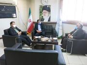 نشست مدیر کل استاندارد اصفهان و دکتر تورج حاجی رحیمیان