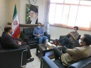 دیدار رئیس جهاد دانشگاهی اصفهان و مدیرکل ستاد اجرایی فرمان حضرت امام (ره) استان اصفهان