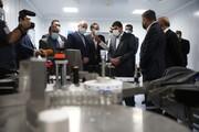 گزارش خبر ۱۴  از بازدید قالیباف رئیس مجلس از شهرک دارویی برکت و بزرگترین کارخانه تولید واکسن ایرانی