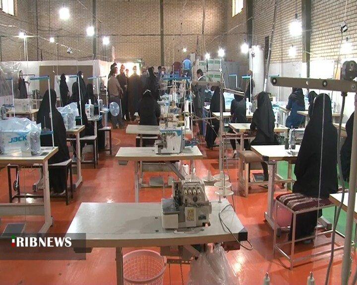 راه اندازی کارگاه خیاطی در جوی آباد خمینی شهر