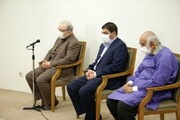 گزارش دکتر مخبر در محضر رهبرانقلاب درخصوص اقدامات ستاد اجرایی فرمان امام درخصوص مقابله با کرونا