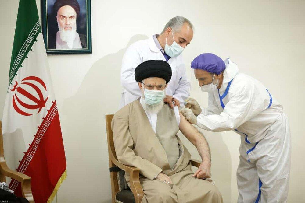 فوری/ رهبر معظم انقلاب اسلامی دوز اول واکسن کوو ایران برکت را دریافت کردند