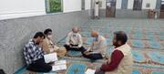 جلسه کارگروه توسعه اشتغال روستای چهار برج بخش آبپخش شهرستان دشتستان