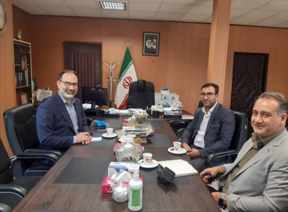 برگزاری جلسه هماهنگی با رئیس سازمان صنعت، معدن و تجارت البرز در خصوص طرح های اشتغالزایی