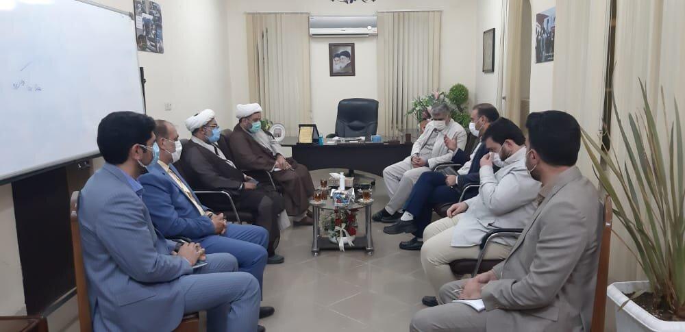 دیدار معاون سازمان تبلیغات کشور با مدیرکل ستاد اجرایی فرمان امام در استان سیستان و بلوچستان