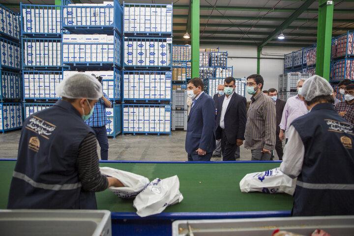 ارسال محموله امدادی به سیستان و بلوچستان