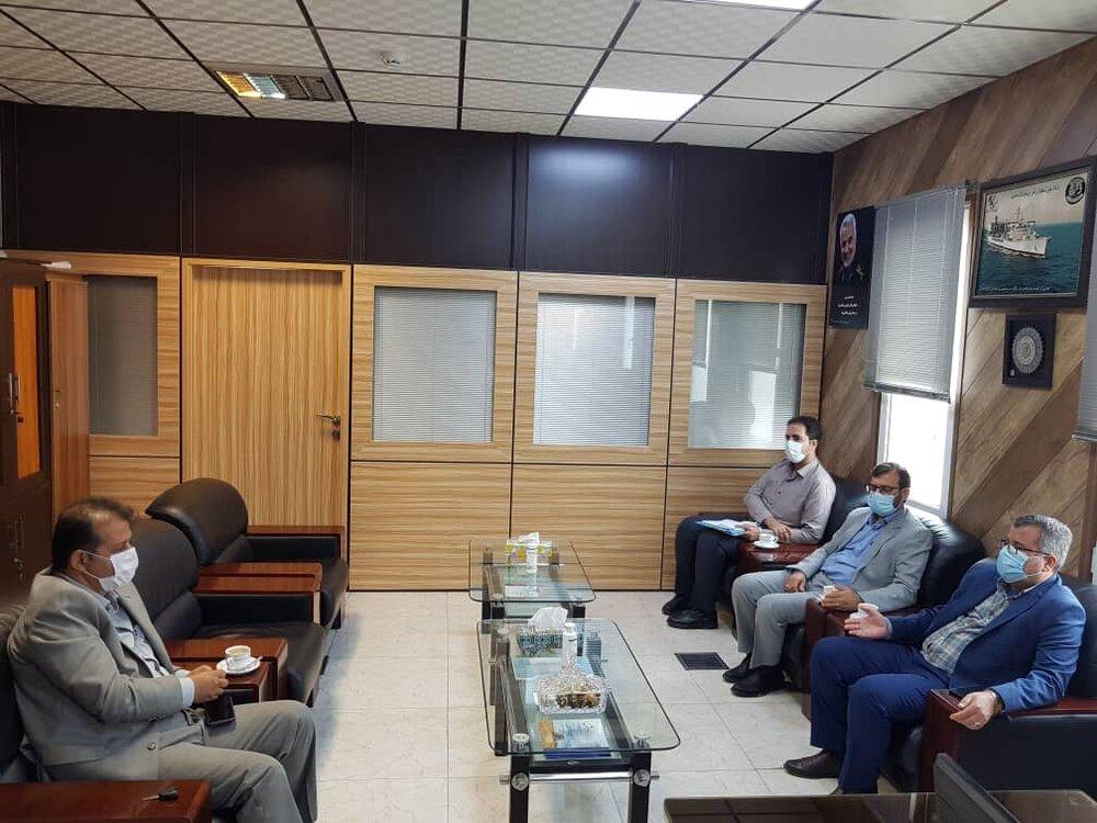 جلسه مدیران کل ستاد اجرایی فرمان حضرت امام (ره) هرمزگان و هواشناسی استان هرمزگان